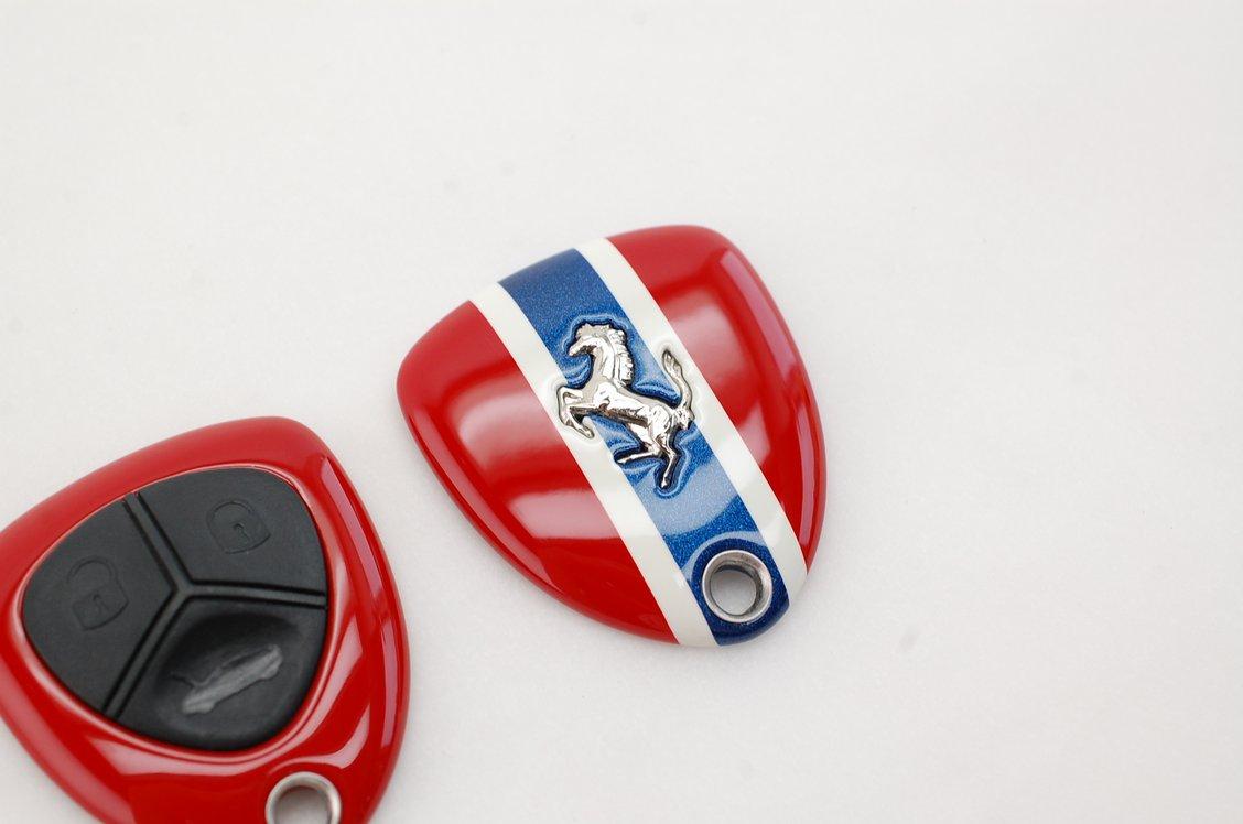 フェラーリ458リモコンキー塗装