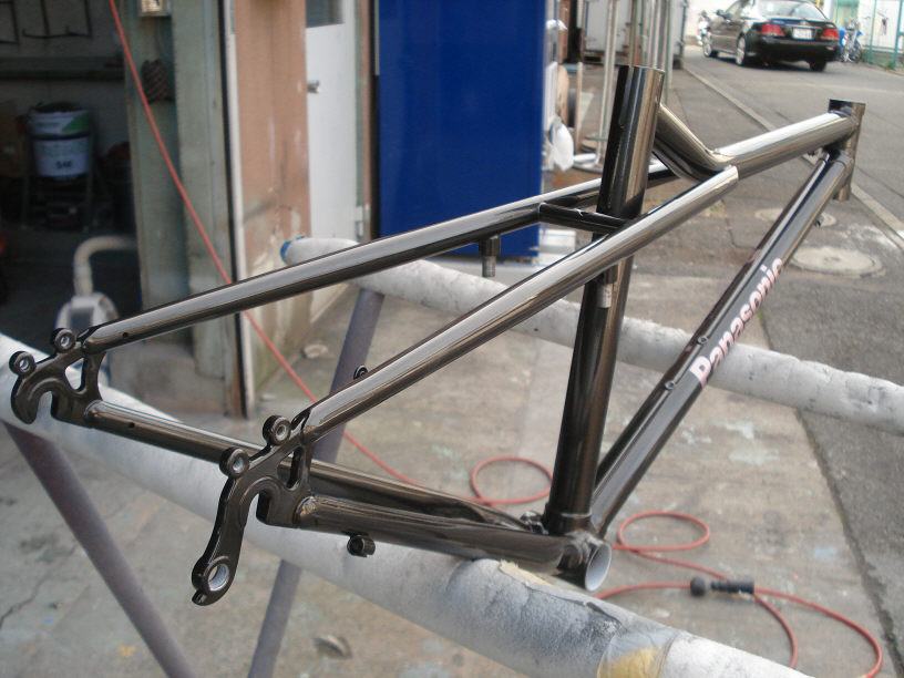 Pro_Fit Diary 【プロフィット日記 ... : 自転車 フレーム 塗装 業者 : 自転車の