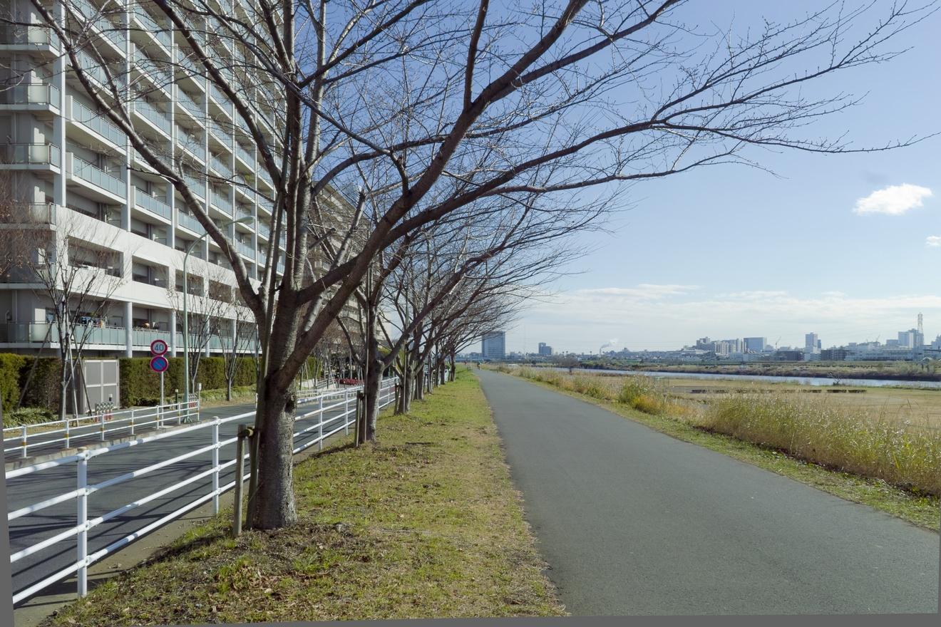 ガス橋近辺 羽田方向