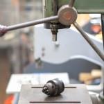 鋳造凸文字 簡易フライス加工