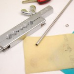 フェラーリキーリング傷付き防止用パイプ加工