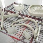 事務用回転椅子塗装 完成
