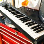 MIDIキーボード 分解