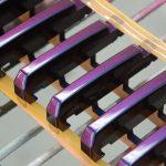 Roland MIDIキーボード 本塗り
