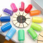 色相環壁時計 制作②